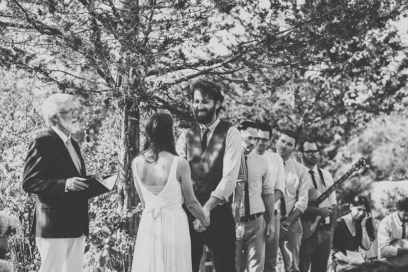 Alternative Outdoor Christian Wedding Ceremony in Picton