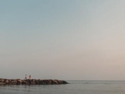 Toronto Leuty Beach Engagement Session