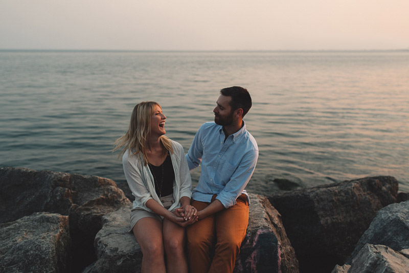 Lake Ontario Engagement Session
