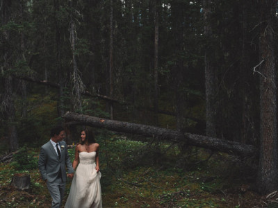 Simple Mountain Wedding