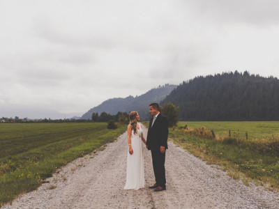 Mission BC Forest Wedding