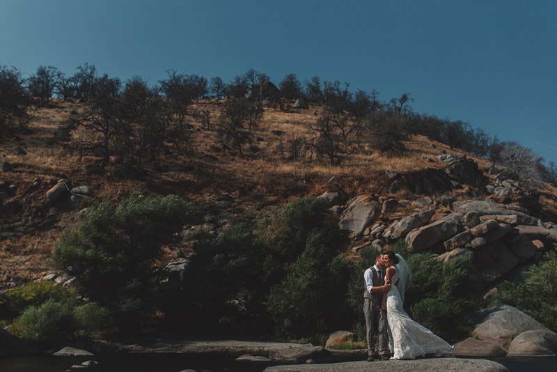 Three Rivers California Wedding Portraits