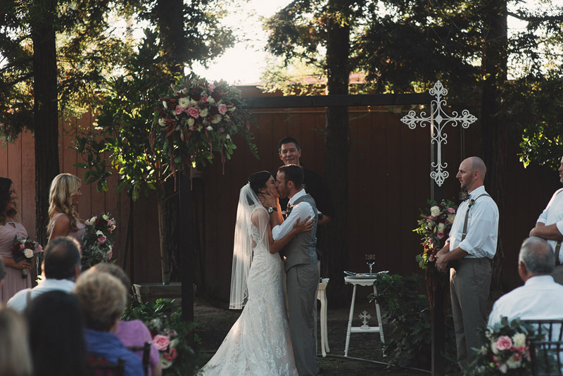 Intimate Backyard Wedding Visilia