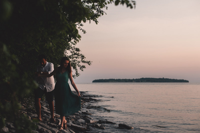 Prince Edward County Engagement Session