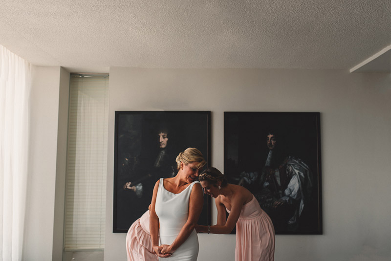 arta gallery wedding