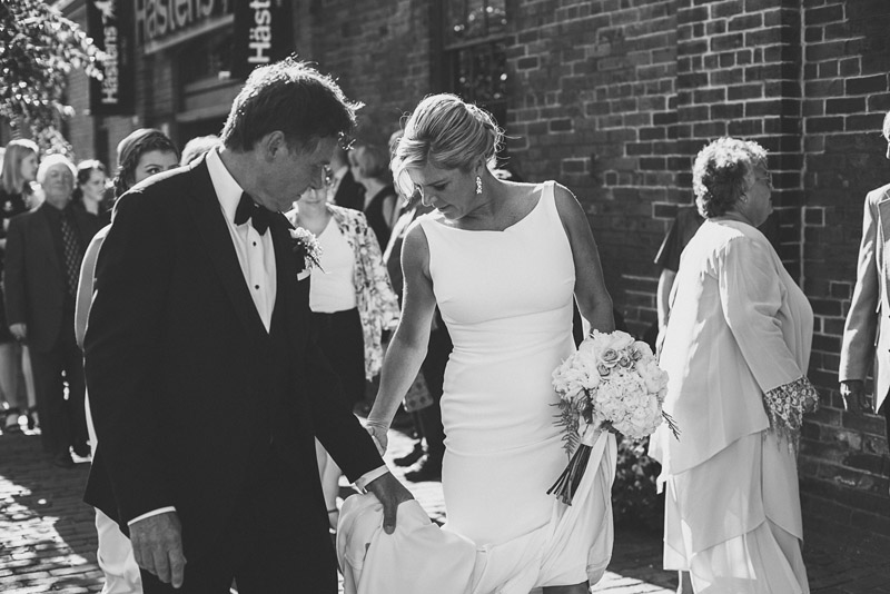 distillery district wedding