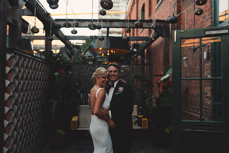 broiler house wedding