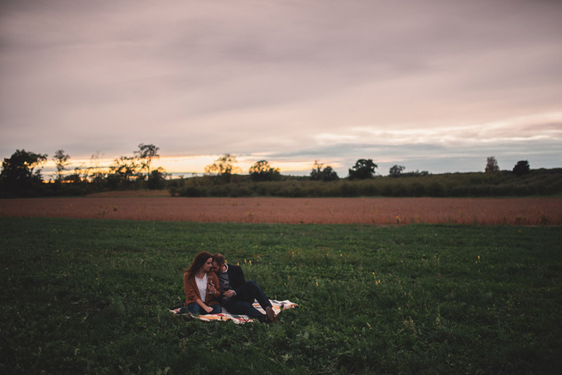 sunset picnic