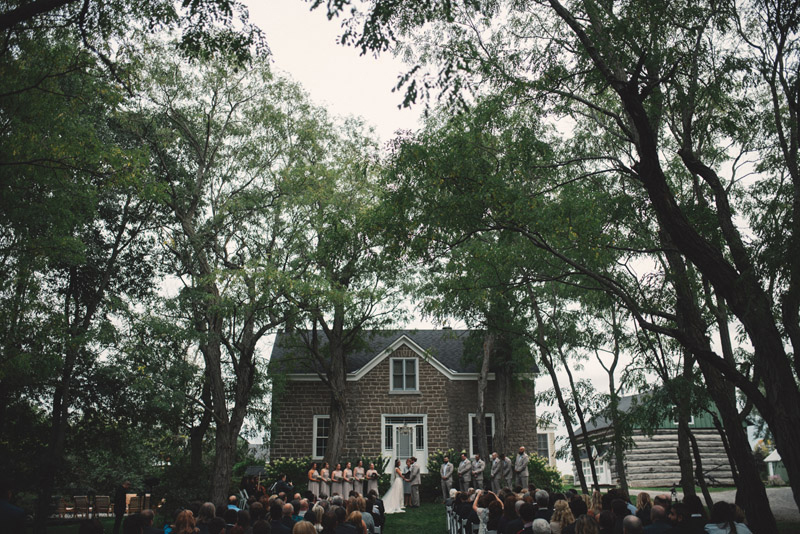 Stonefields garden house ceremony