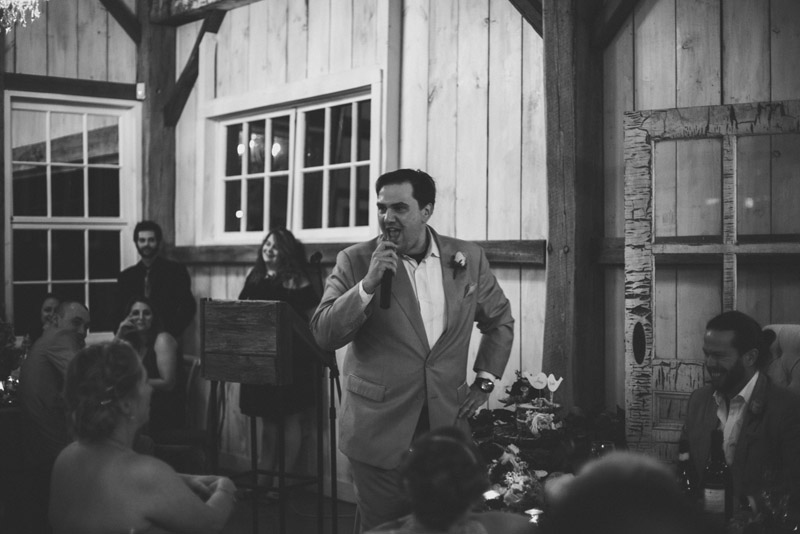 Groomsmen Speech reactions