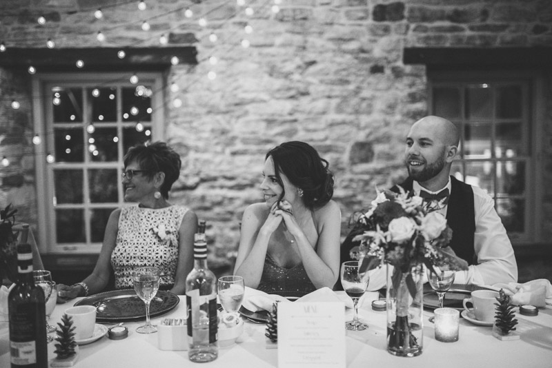 Mother of Groom Speech reaction from maid of honour