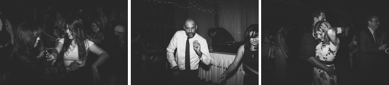 fun dance party images from wedding